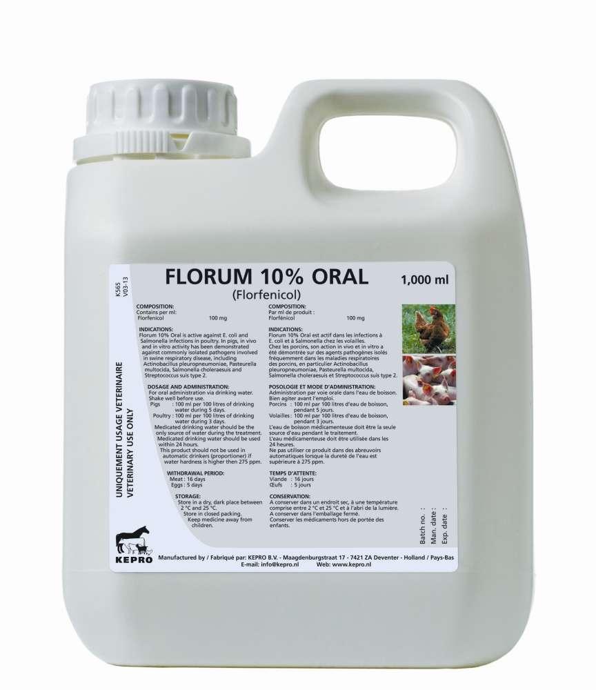 FLORUM 10% ORAL – Kepro